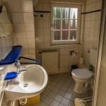 Badezimmer, Blaue Ferienwohnung, Ferienhof Lührs, Schneverdingen-Reinsehlen