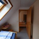 Beide Schlafzimmer, rote Ferienwohnung, Ferienhof Lührs, Schneverdingen, Lüneburger Heide