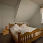 Schlafzimmer, Blaue Ferienwohnung, Ferienhof Lührs, Schneverdingen-Reinsehlen
